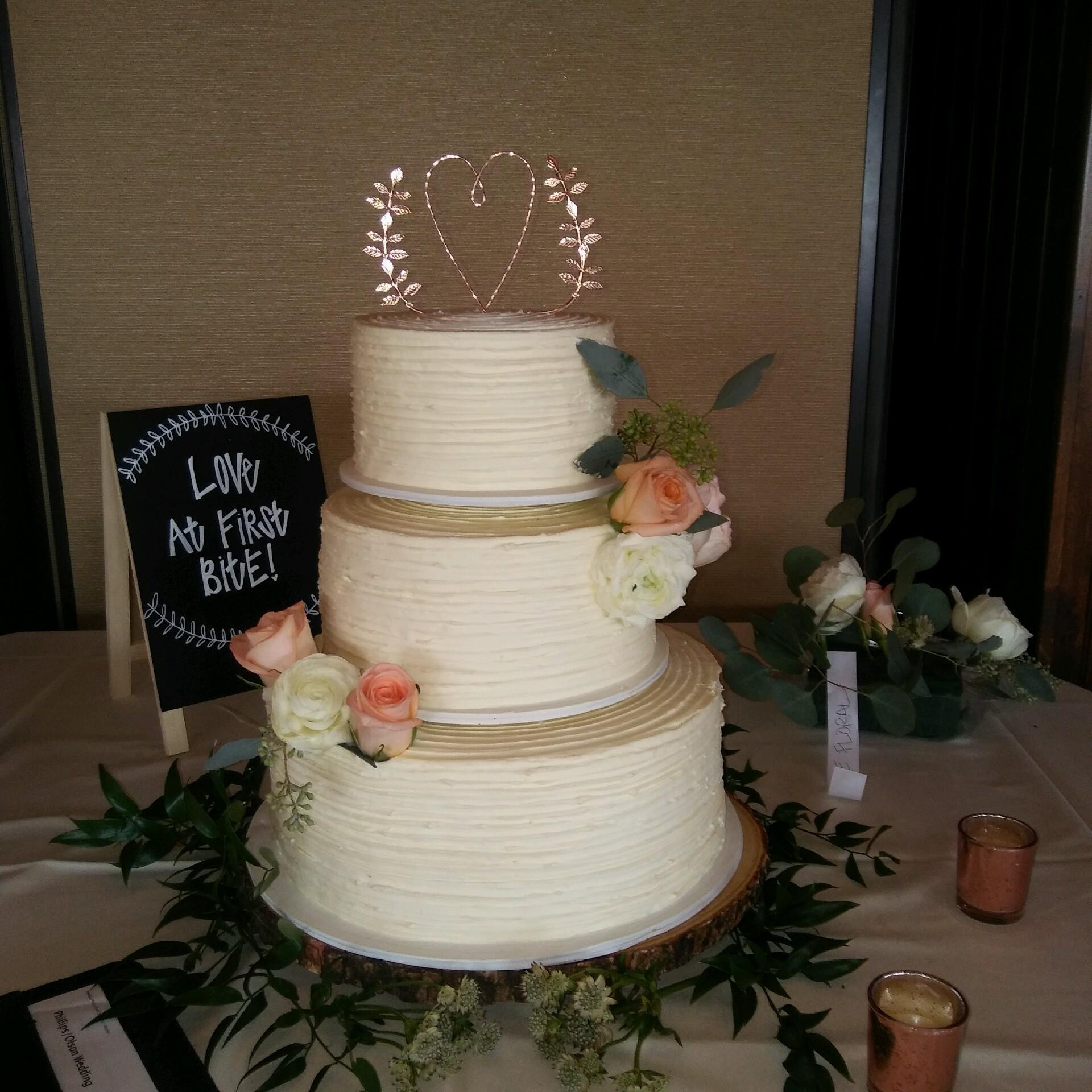 Twin Cities Gluten Free Wedding Cake